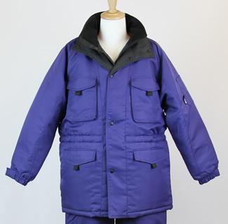脅威の保温性 冷凍倉庫用防寒服