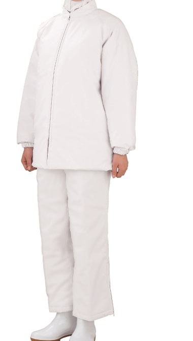 食品工場防寒白衣